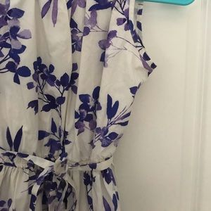 Lands' End Dresses - Purple Floral Dress